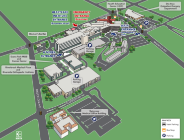 Riverside Community Hospital Interactive Campus Map and Floor Plans